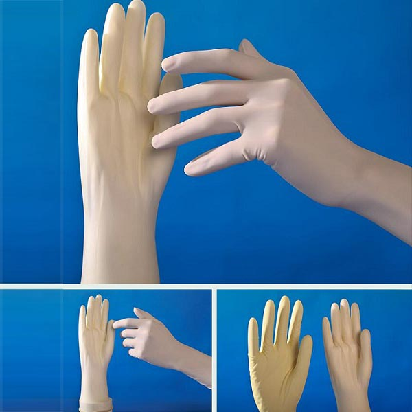 Sterile Latex Surgical Gloves